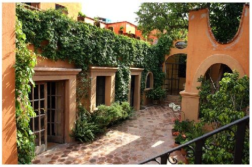 389 best images about fachada casa de mexico on pinterest for Decoracion de casas rusticas mexicanas