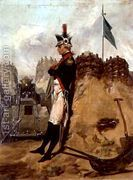 Alexander Hamilton (1757-1804) in the Uniform of the New Yor...  by Alonzo Chappel
