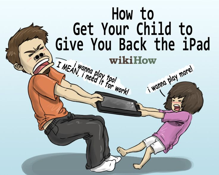 How to Get Your Child to Give You Back the iPad