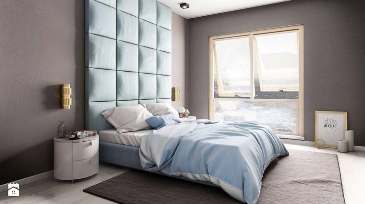 Poduszkowa ściana - zdjęcie od dappi panele dekoracyjne #interiordesign #bedroom