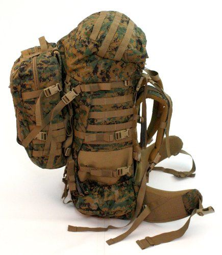 ILBE Main Pack USMC Generation 2 With Assault Pack *have one of these and could not be happier