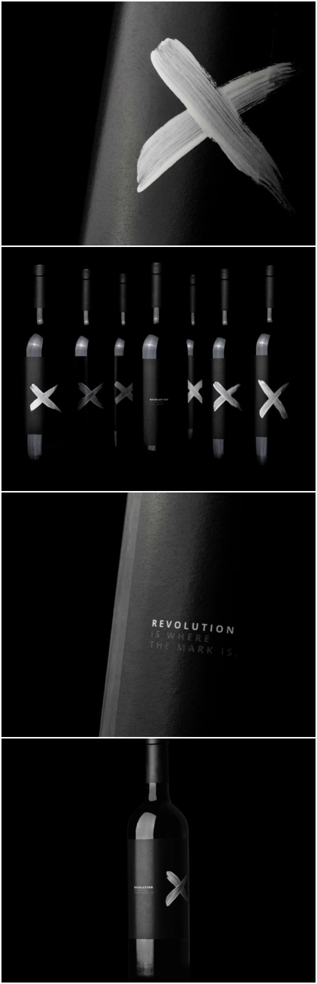 Argentinian 200 Hand Made Wine Label Designs Design Agency:Red Box Mendoza Brand / Project Name:Revolution is where the mark is Location:Argentina Category: #wine #drinks  World Brand & Packaging Design Society