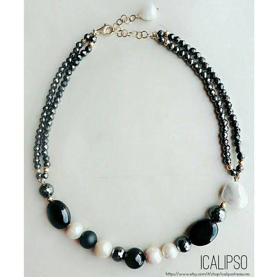 Guarda questo articolo nel mio negozio Etsy https://www.etsy.com/it/listing/522801957/perline-collana-gioielli-di-pietra