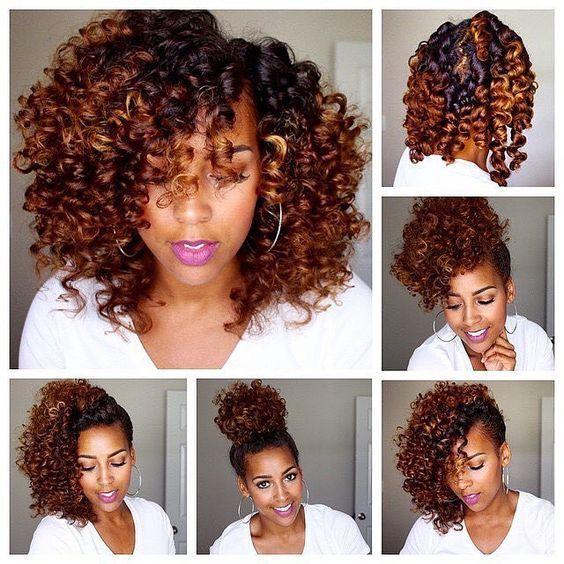 How To Do A Bantu Knot Out