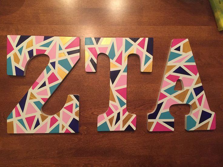 Zeta tau alpha letters