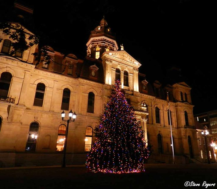 Tree Lighting at the New Brunswick Legislature 2013.