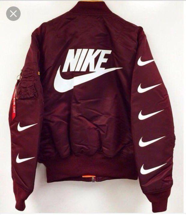 """Fashion """"Nike"""" Bomber Jacket"""