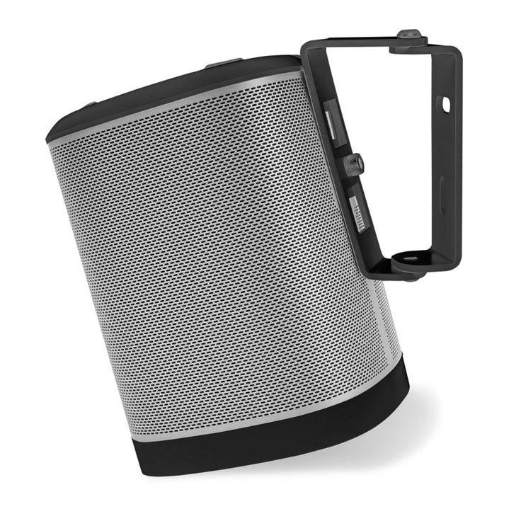Wall bracket Sonos Play 1 black 15 degrees. $19 #wallmount #sonos #play1