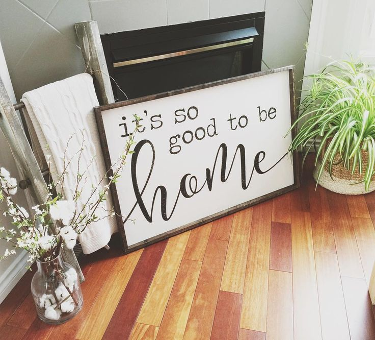 Top 25 best Home decor signs ideas on Pinterest Rustic signs