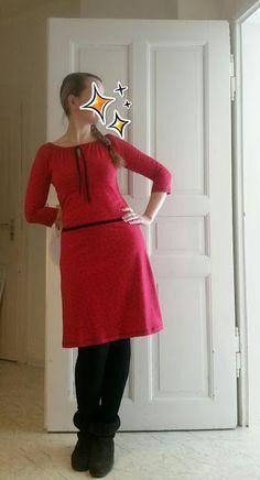 ankeschön: Ameise, Kleid nach dem Schnittmuster von rosa p aus dem Buch #nähdirdeinkleid, z.b über www.rosape.de