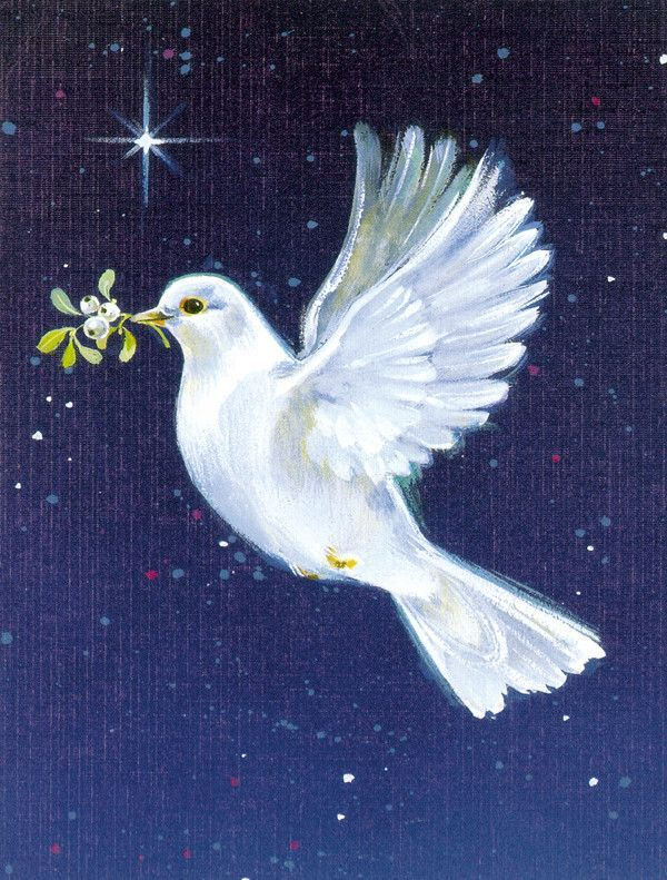 Peace Dove with the Olive Branch 2-Sided Garden Flag