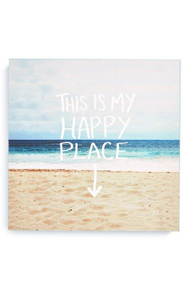 This is totally my happy place. :: canvas by Leah Flores at Nordstrom
