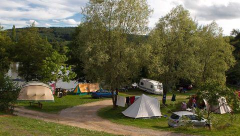 Camping Les Grèbes du Lac de Marcenay,  Bourgogne,  France