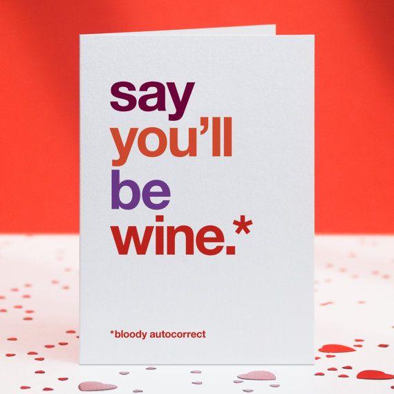 Funny Love Card Funny Girlfriend Card by WordplayDesignUk on Etsy
