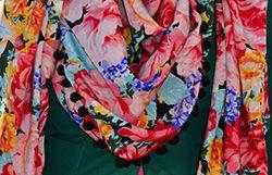 DIY bolletjes of franje sjaal | Aboutfashion.nl Meer dan alleen een fashion blog!