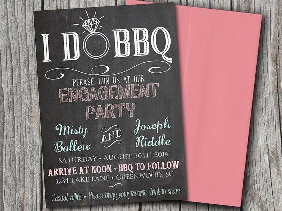 48 best Party Ideas images on Pinterest Engagement ideas - engagement party templates
