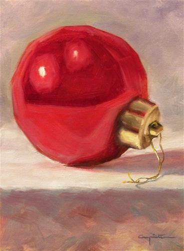 """""""Feliz Natal"""" - Original Fine Art for Sale - © Eduardo Carpintero"""