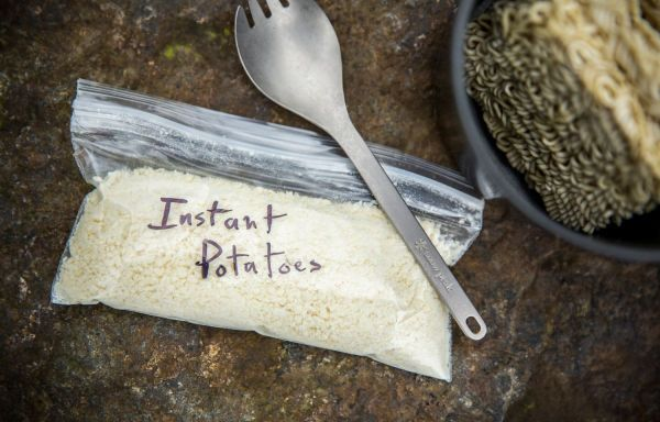 Always bring some instant potatoes in your food bag. You can add them to almost any noodle dish (like ramen or mac & cheese) to thicken it up and add more flavor. For thru-hikers, it's a great way to add some calories. Want more tips on planning a good meal? Check out our Meal Planning Tips for Backpacking.