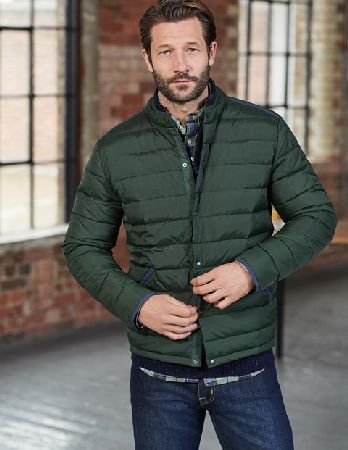 Boden Highgate Quilted Jacket Spruce Green Colourblock Ever Wish