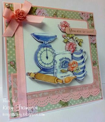 Made using Dovecraft Decoupage & Papers. For more info please see my blog - http://kittyskrafty.blogspot.co.uk/2013/03/cupcake-cards.html