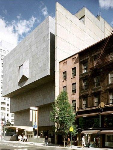 Whitney Museum by Marcel Breuer  945 Madison Avenue  New York, NY 10021  (212) 249-4350