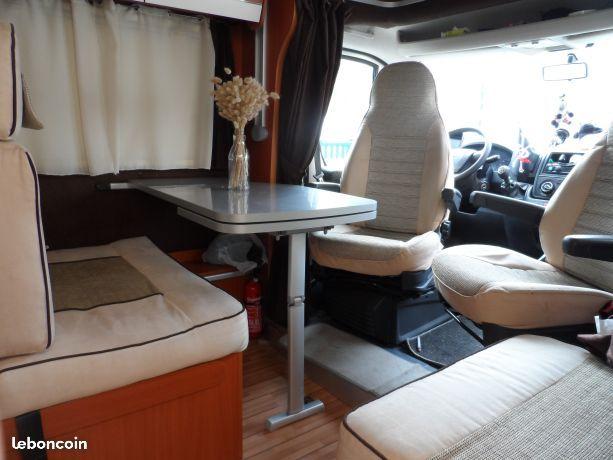 Camping car giottiline profile