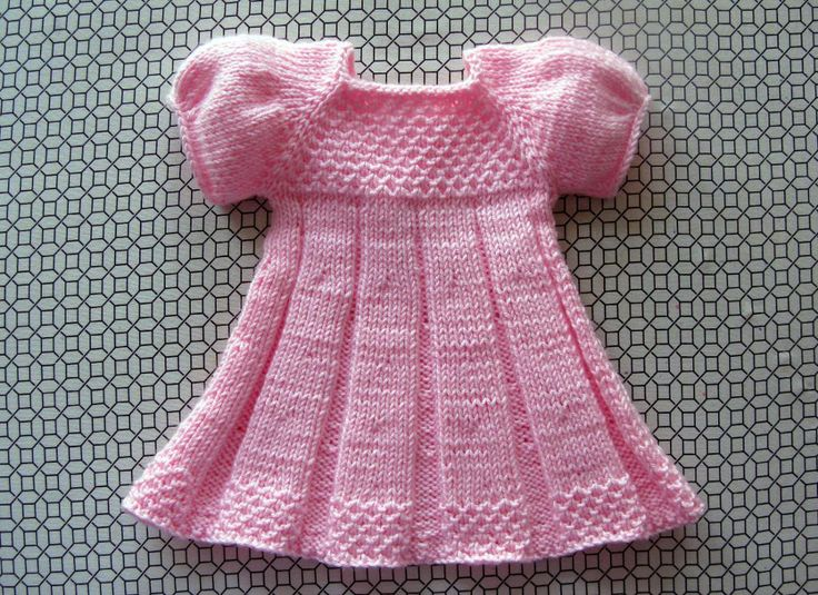 PLEATED SUMMER doll dress by Knit N Play--I REALLY LIKE THIS DRESS THERE IS A CHARGE FOR CRAFTY PATTERNS