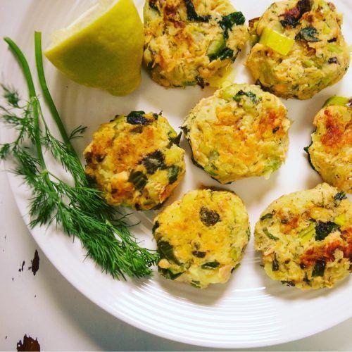 Salmon Potato Cakes with Herbed Dijon Sauce Recipe {Low FODMAP, Paleo, Gluten-free, Dairy-free}