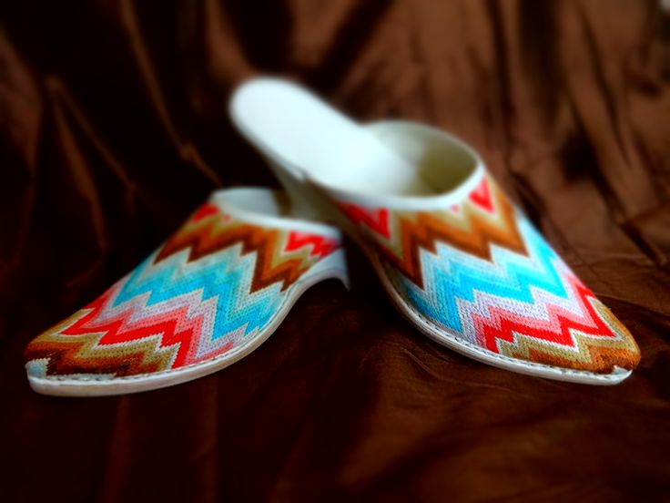 From design to effect - seven months of work on hand-embroidered 18th century mules ;)
