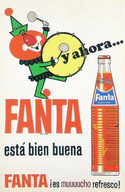 Publicidad de Fanta. Años 70. España. Spain.