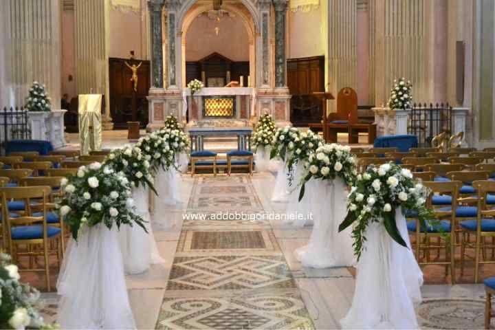 Addobbi Chiesa 10 Navate Di Nozze Addobbi Floreali Matrimonio Fiori Per La Chiesa Da Matrimonio