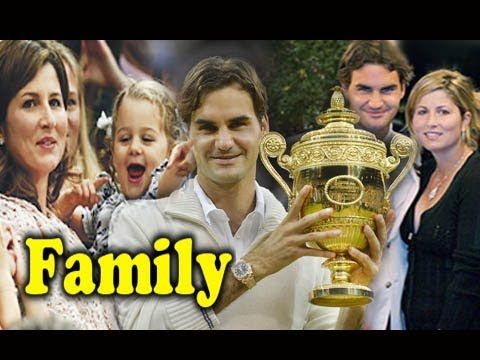 Roger Federer Family Photo With Parents,Wife Mirka Federer,Sons and Daug...