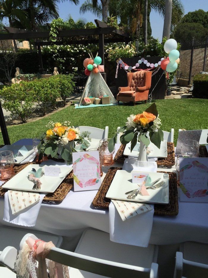 Boho Dreams Baby Shower Brunch