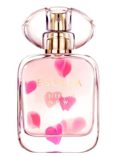 Celebrate N.O.W. Escada for women (2017)...  Celebrate N.O.W. by Escada is a Oriental Floral fragrance for women. Top note is ginger; middle note is magnolia; base notes are cinnamon, vanilla and tonka bean. Perfume rating: 5.00 out of 5 with 2 votes. Will need to TEST this when it is available.