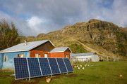 Comuna Río Ibáñez  05/2014, Río Ibáñez, Región de Aysén, Chile   Potencia: 43.2 kWp  Tipo de instalación: Freiland, Sistema aislado