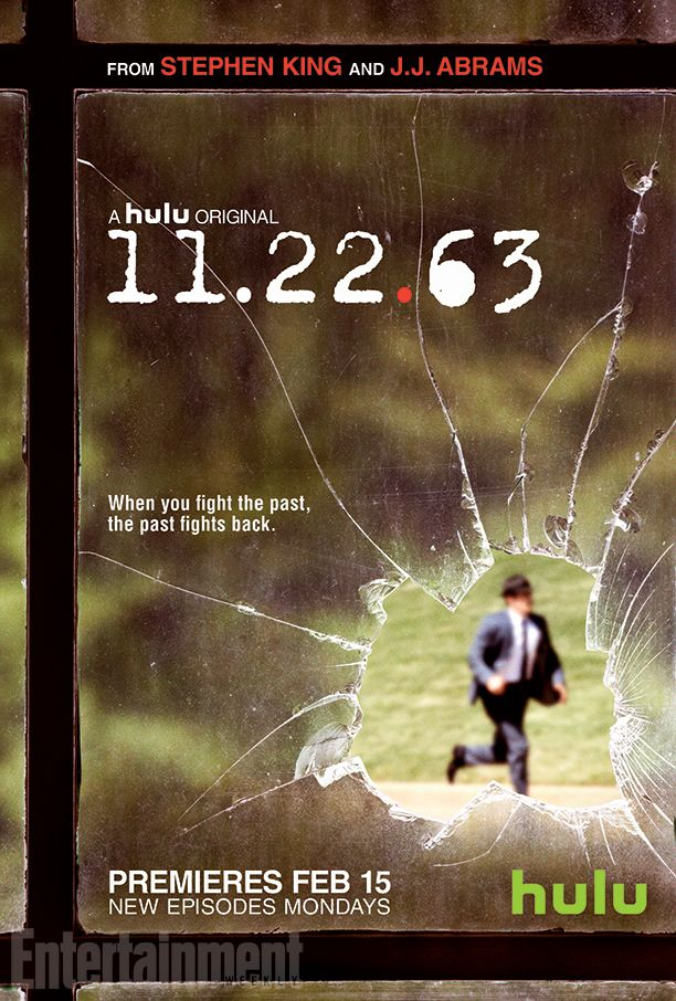 James Franco is on a mission to change the past in Hulu's upcoming adaptation of the Stephen King thriller 11.22.63 — but what if the past doesn't want to be changed?  That's one of the mind-twisting questions raised in the eight-part limited series, which stars Franco as a teacher who gets mentored by a diner owner (Chris Cooper) to travel back in time and prevent the assassination of John F. Kennedy.
