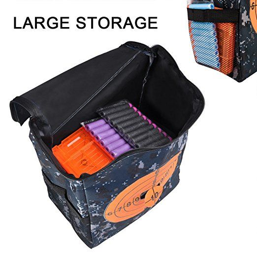 Amazon.com  Target Pouch Storage Carry Equipment Bag for Nerf Guns Darts N- 60b6b08f7