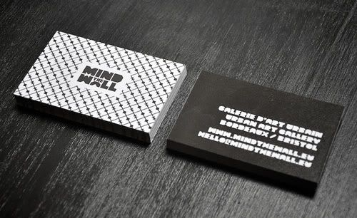 Business Card with Pattern Design 02