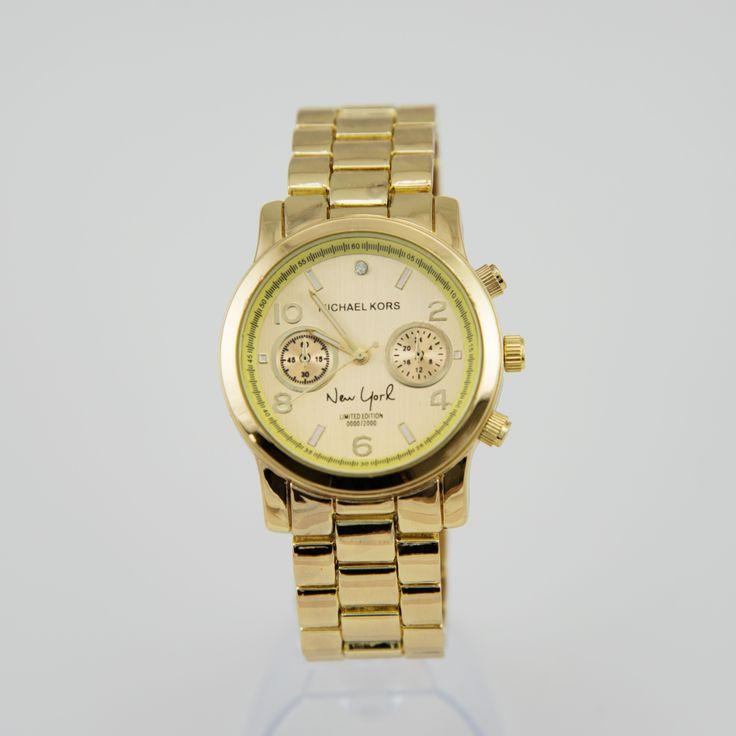 Часы женские Michael Kors New York, золотые