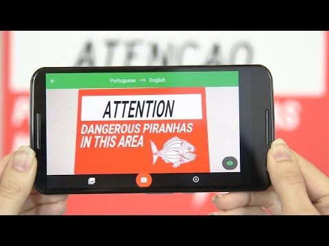 """Video: """"How Google Translate Makes Signs Instantly Readable"""" 
