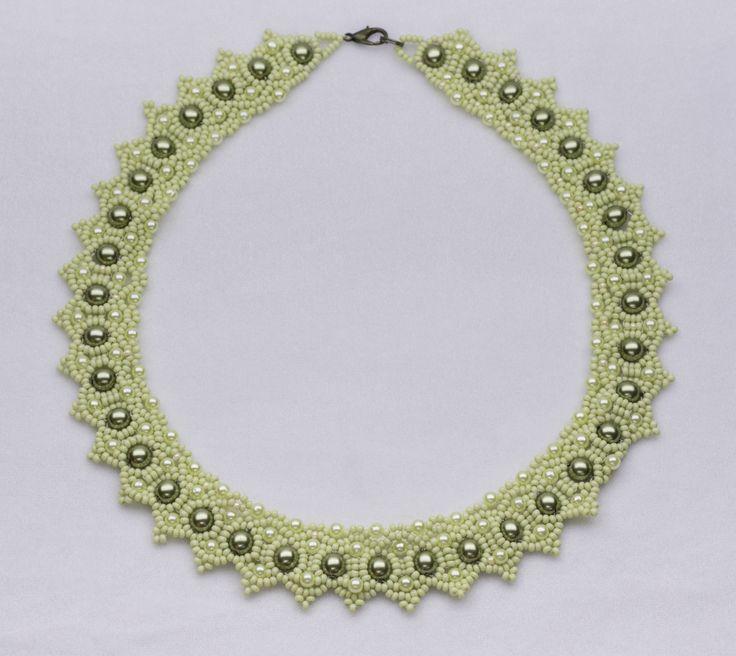 Ожерелье Зеленое | biser.info - всё о бисере и бисерном творчестве