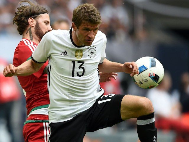 Result: Germany ease past Hungary in final Euro 2016 warm-up game