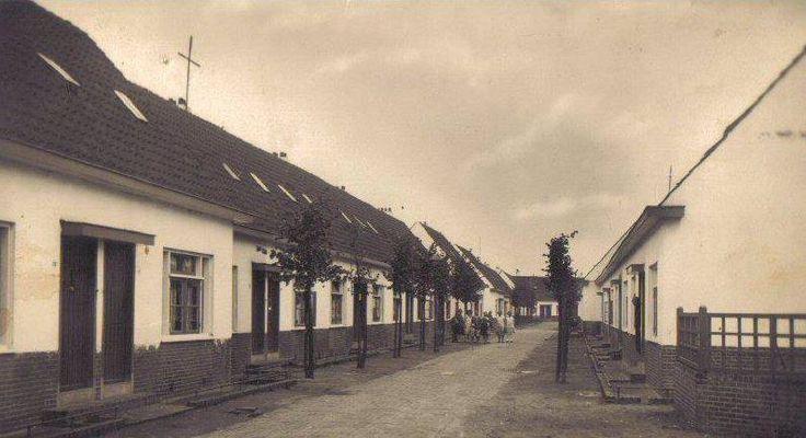 1930, Het Witte Dorp Bomstraat.