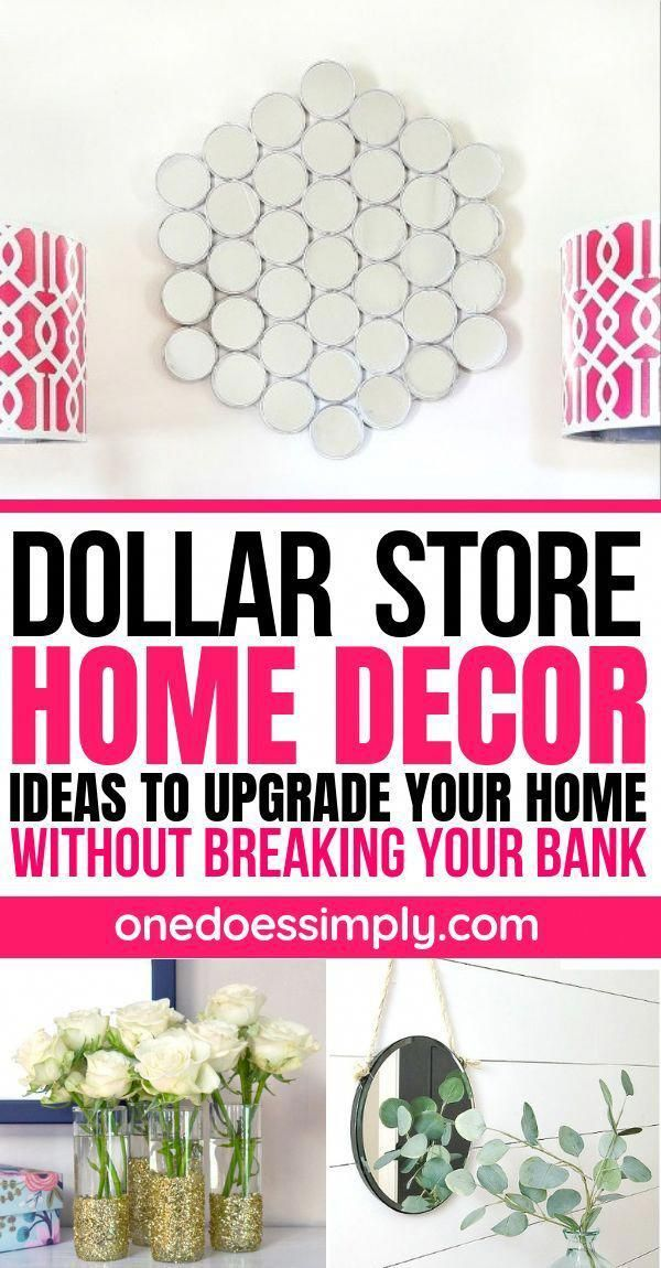 Resourceful Terminated How To Decorate Your Home On A Budget Chat Now Dollar Store Diy Dollar Store Diy Projects Diy Home Decor Bedroom