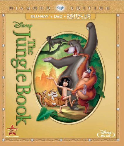 The Jungle Book (Two-Disc Diamond Edition: Blu-ray / DVD + Digital Copy) - The price dropped 31% #frugal #savingmoney