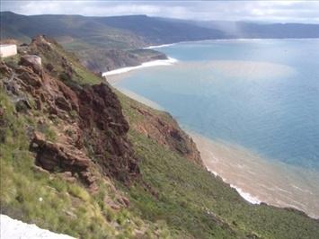 Spectacular view, El Mirador Baja California, Mexico.