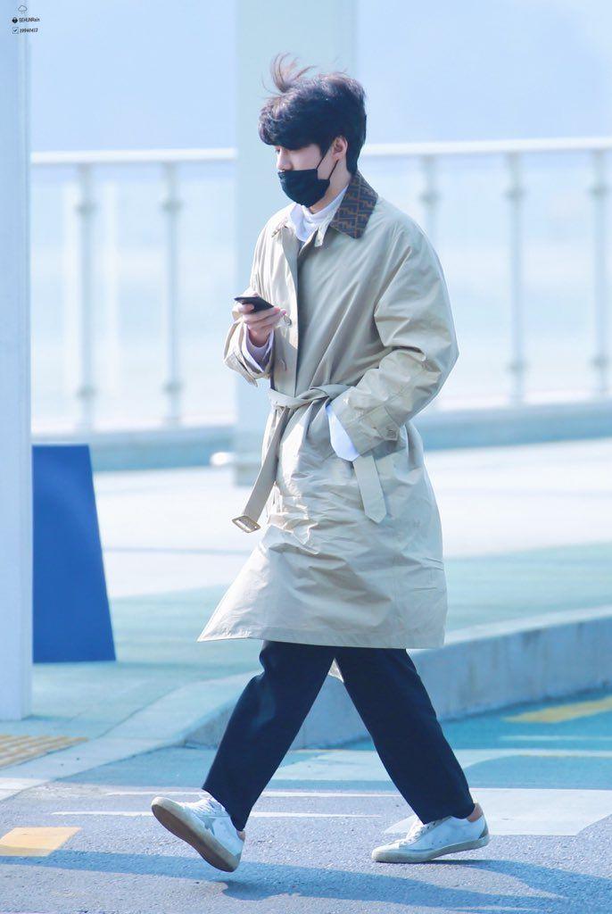 180222 #Sehun #Exo at Incheon Airport