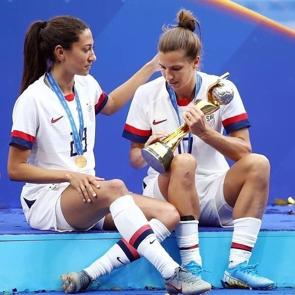 Preath And Team Champion World Cup Credit Gettyimages Tobinheath Christenpress Preath Tobographe Usa Soccer Women Usa Soccer Team Womens Soccer