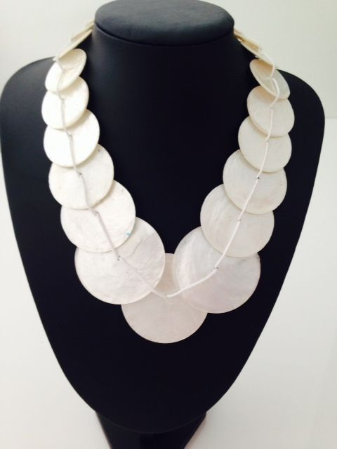 Beautiful white shell necklace $10, go to www.melikeshoes.com.au (We always do free shipping)