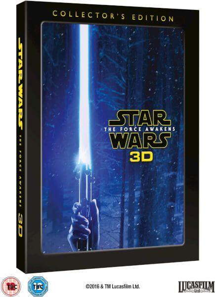 Une édition collector pour le Blu-ray 3D de Star Wars Episode VII - Le Réveil de la Force, avec de nouveaux bonus et scènes coupées